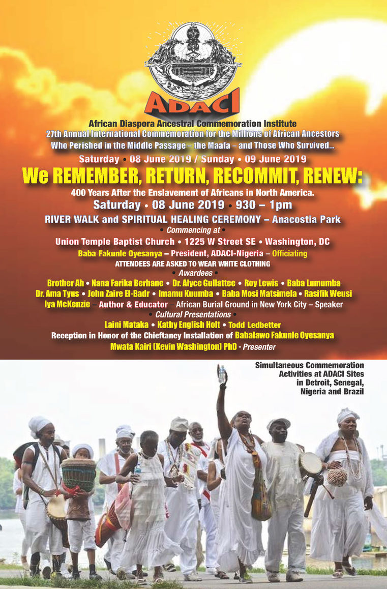 27th International Commemoration