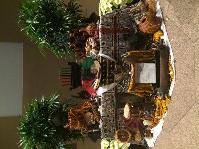 ADACI Kwanzaa Altar